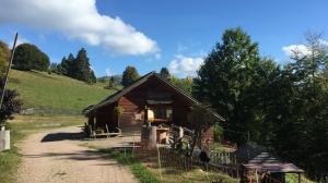 Nonnenmattweiher Fischerhütte