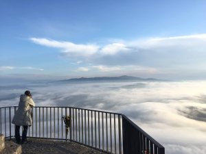 Montserrat Aussicht Wolken