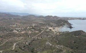 Playa del Arroz von oben