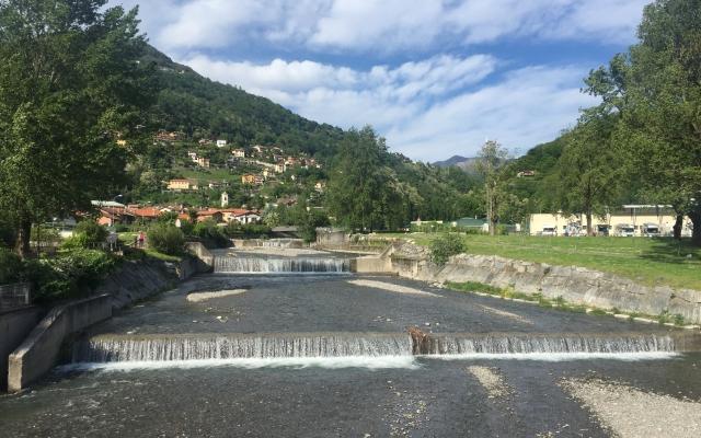 Maccagno Fluss