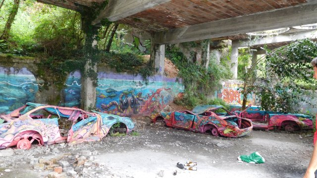 Caldé Kalkwerk Graffiti