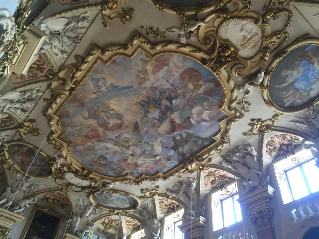 Schloss Rastatt innen