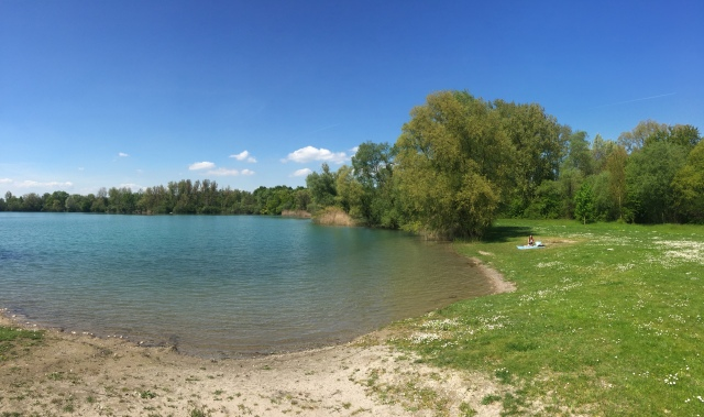 Badesee bei Rastatt
