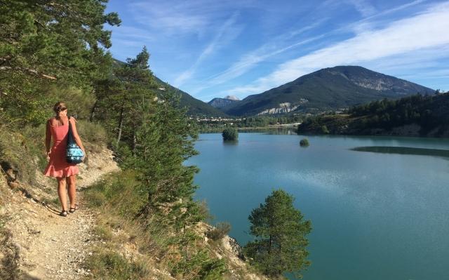 Wanderweg St.Andre les Alpes