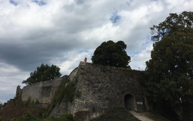 badurach ruine oben