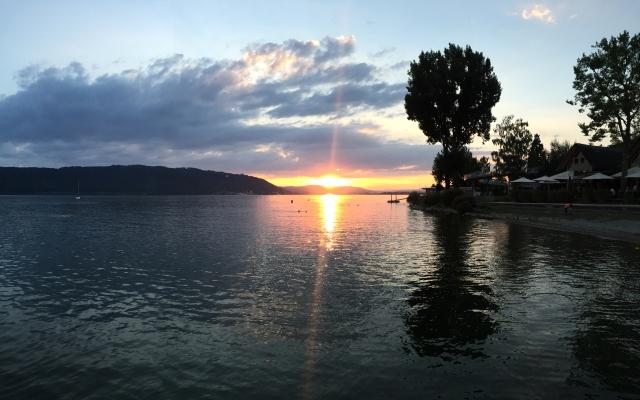 Sipplingen Sonnenuntergang